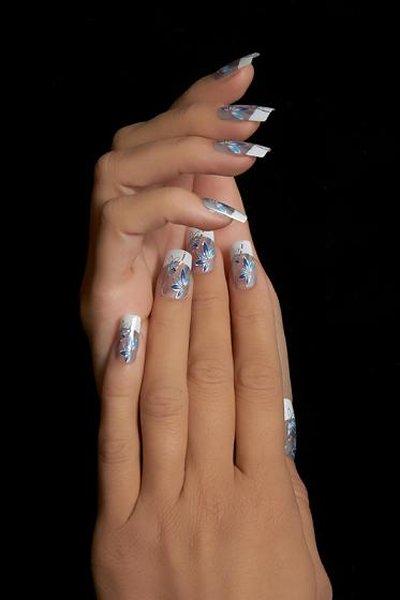 Весенний дизайн ногтей гель лаком